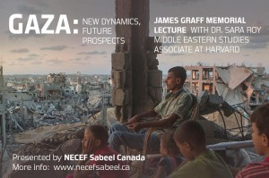 Gaza event with Sara Roy